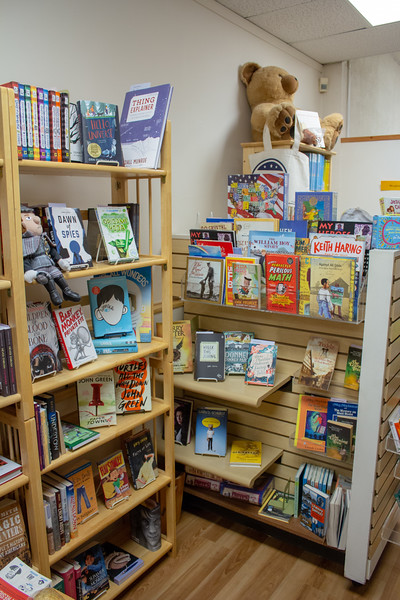 Claflin Books has a large variety of books from many different genere's avaliable for purchase. (Alex Shaw | Collegian Media Group)