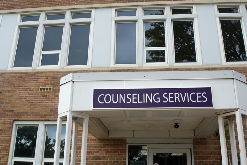 Now at Lafene Health Center, K-States Counseling Services is open for all currently enrolled students. The services provide assistance in decision making, skill building, or mental health support. (Collegian Media Group | Hannah Greer)