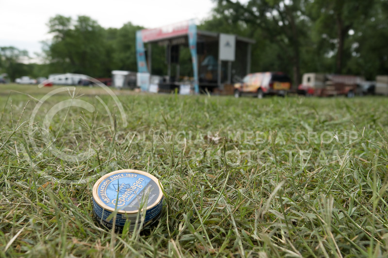 On the morning after the Country Stampede, a country music festival hosted in Tuttle Creek Park from June 21 - 23, many remnants of the festival and the festival goers remained. (Alex Masson | Collegian Media Group)