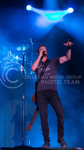 Dierks Bentley performs during day 1 of Country Stampede on Thursday. (Photo by Michael Weninger | The Collegian)