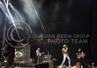 Tim McGraw performing Friday night at Country Stampede. (Photo by Michael Weninger | The Collegian)