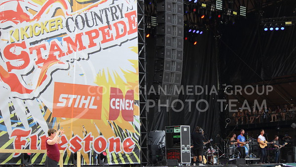 High Valley performs on day two of Country Stampede on June 24, 2016. (Miranda Snyder | The Collegian)