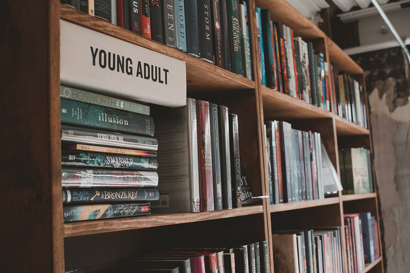 The Dusty Bookshelf offers an expansive collection of books, with one of the genres being Young Adult. (Katelin Woods | Collegian Media Group)