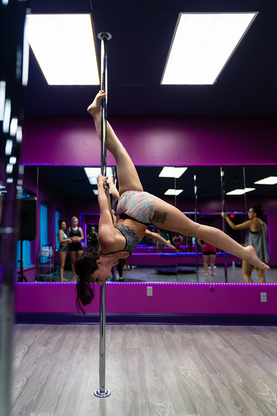 Elevation Studios in downtown Manhattan offers daily classes of varying degrees of difficulty for the community. Even though Elevation Studios is a recent addition to the Manhattan Community, arriving just this summer. (Olivia Bergmeier | Collegian Media Group)