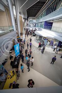 Engineer Career Fair  in Engineering Hall on Feb. 8, 2017. (Nathan Jones | The Collegian)