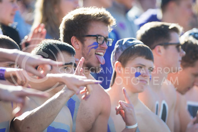 K-State fans wabash at the start of the football game between K-State and Texas in Bill Snyder Family Stadium on Oct. 22, 2016. (Meg Shearer | The Collegian)