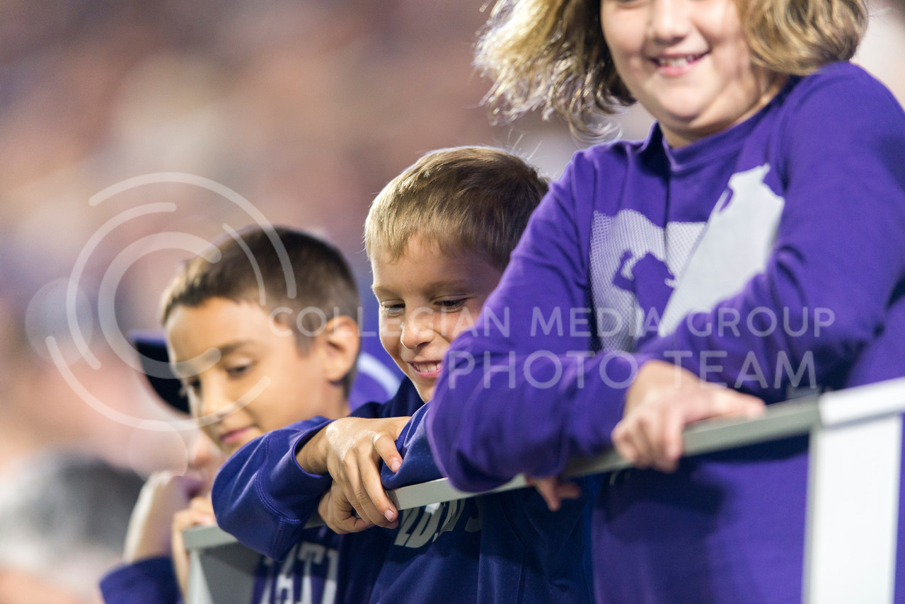 K-State fans during the game between K-State and Texas Tech on Oct. 8, 2016, in Bill Snyder Family Stadium. (George Walker | The Collegian)