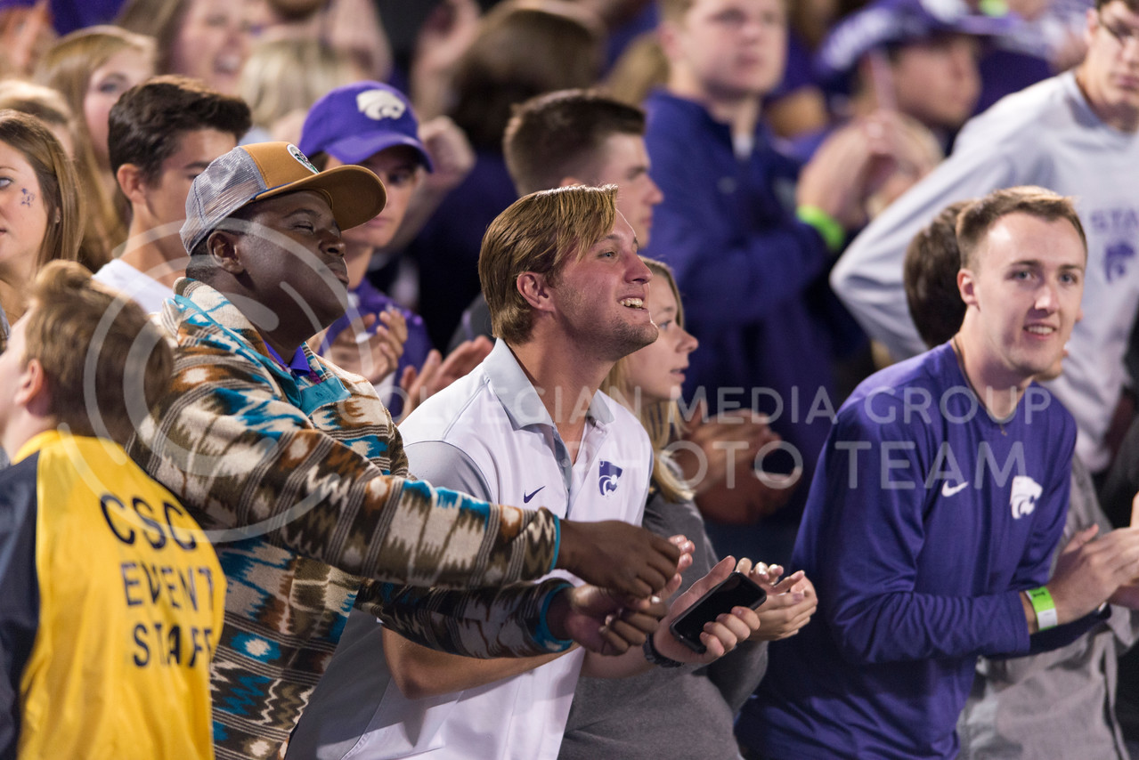 People Wabash during the game between K-State and Texas Tech on Oct. 8, 2016, in Bill Snyder Family Stadium. (George Walker | The Collegian)