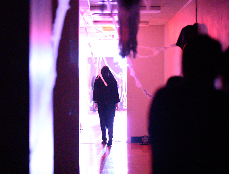 Free Haunted Union event open to the public, located in the Courtyard, Ground Floor of the K-State Student Union. Oct 18, 2019. (Dylan Connell | Collegian Media Group)