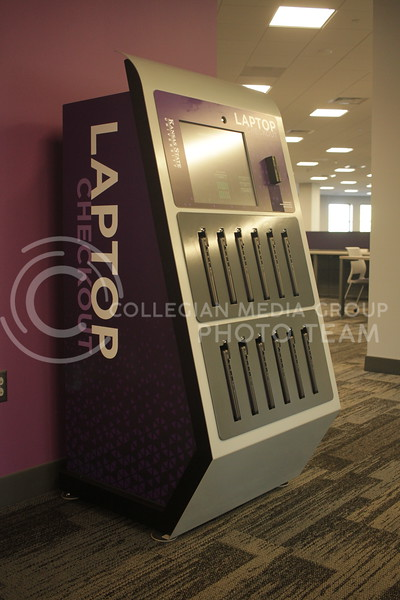 Hale Library has started a new program, offering students laptops to checkout. (Sophie Osborn   Collegian Media Group)