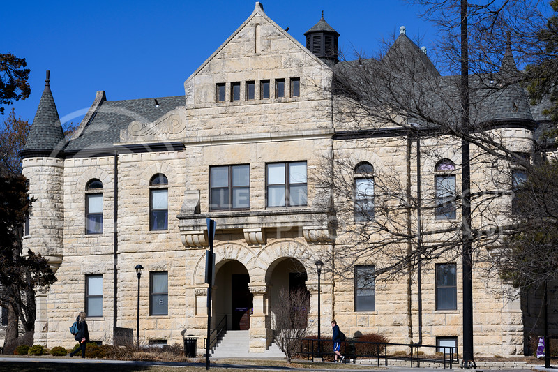 Holton Hall contains administrative offices and student services, including the Office of Student Life. Feb 13, 2020. (Dylan Connell   Collegian Media Group)