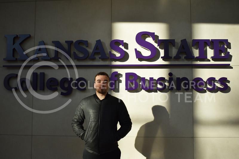 Karim Majed, senior in marketing, is an international student from Lebanon. (Julie Freijat | Collegian Media Group)