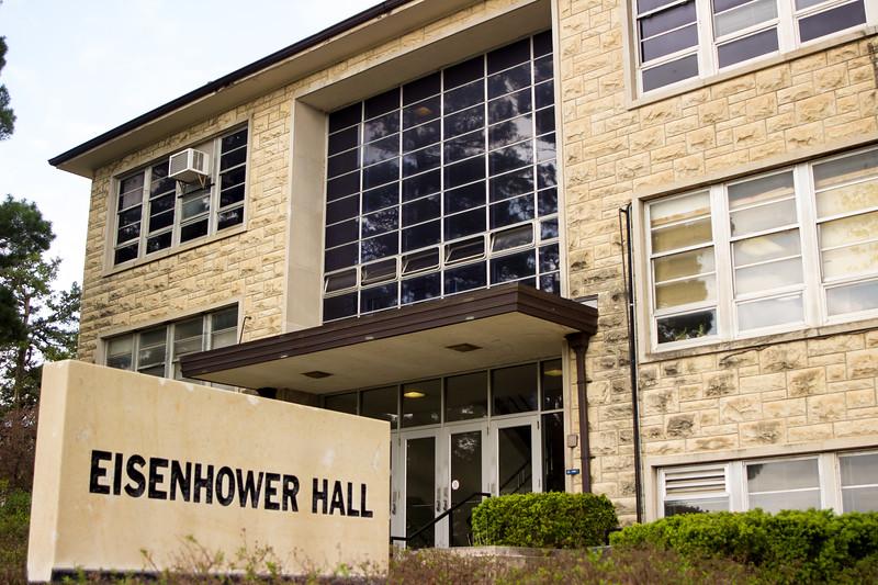 Eisenhower Hall, at K-state University is home to the Modern Language Department.  (Sarah Millard | Collegian Media Group)