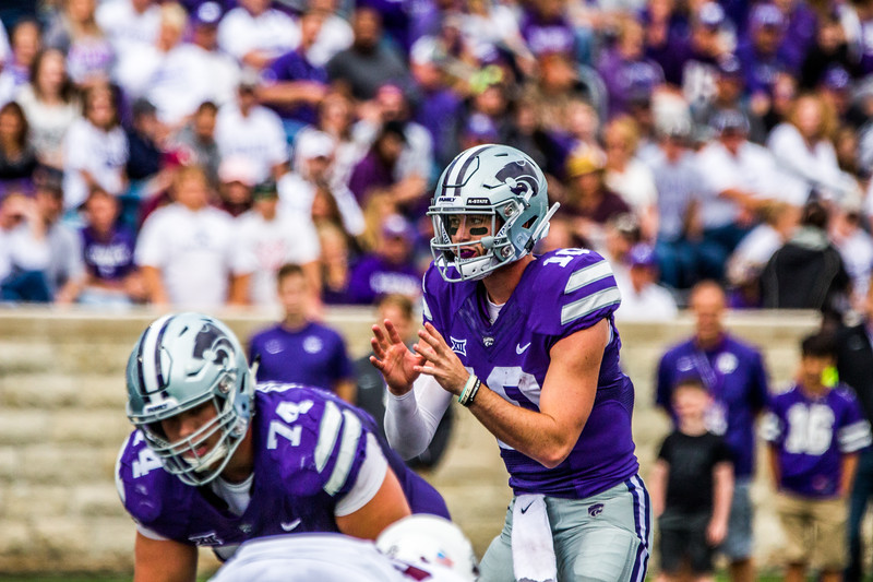 The Kansas State Wildcats Faced Off Against The Mississippi State Bulldogs On 09/08/2018, The Wildcats lost to the MSU Bulldogs 31-10(Dalton Wainscott Collegian Media Group)