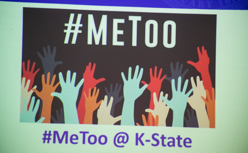 sing at #MeToo Breakout session at the 3rd annual KSUnite event on november 6th 2019 (Dalton Wainscott I Collegian Media Group)