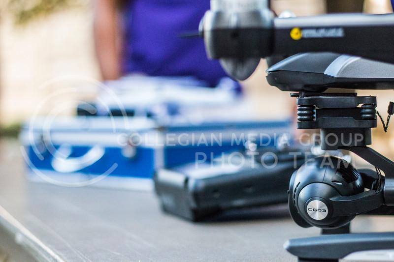 Drones at the 2017 anual Kedziepalooza at Kansas State University (Logan Wassall   Collegian Media Group)
