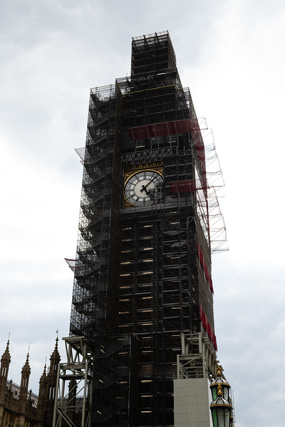 On the River Thames the popular landmark Big Ben sits on the west bank across from the famous London Eye attatched to the United Kingdom's massive parliment building. Big Ben is currently undergoing important remodeling scheduled to be finished in 2021. (Olivia Bergmeier   Collegian Media Group)
