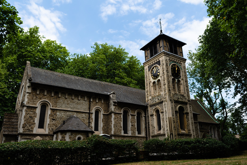 Having origins in the 4th century, St. Pancras Old Church continues to stand as the busy St. Pancras International Train Station rumbles nearby. This building was remodeled from its medieval beginnings by victorian architects Roumieu and Gough in 1847-1848, the church is said to be one of the oldes places of Christian worship in London. (Olivia Bergmeier   Collegian Media Group)