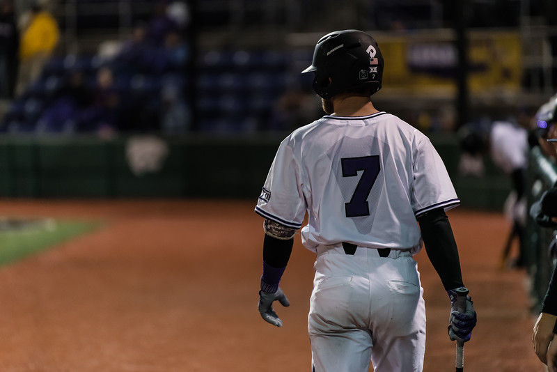 The Kansas State Wildcats lost against the Chreighton Bluejays on Tuesday at Tointon Family Stadium. (Olivia Bergmeier | Collegian Media Group)