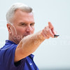 Coach Bruce Weber points toward players during a team practice on June 28, 2016. The Wildcats held their third team practice before taking a trip to Europe for various offseason games. (Evert Nelson | The Collegian)