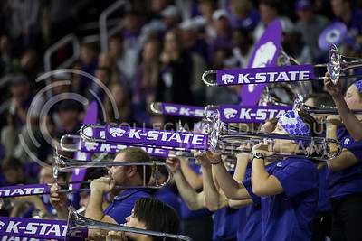 The K-State basketball band plays before the K-State game against Baylor in Bramlage Coliseum on Jan. 14, 2017. (Nathan Jones | The Collegian)