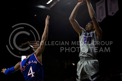 The basketball game between K-State and KU in Bramlage Coliseum on Feb. 6, 2017. (Emily Starkey | The Collegian)