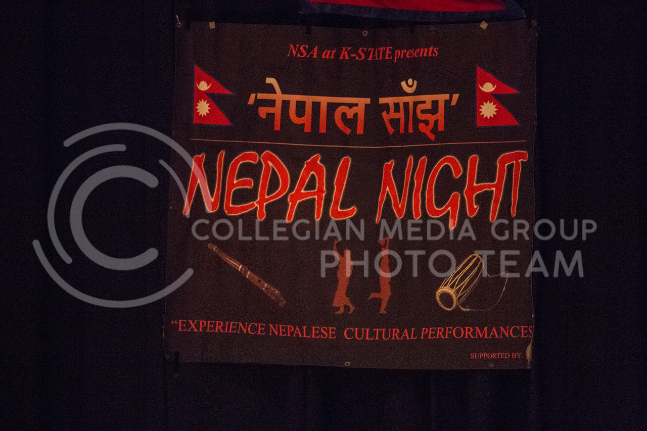 Nepal Night in Forum Hall at Kansas State University on Sept. 9, 2017 (Logan Wassall | Collegian Media Group)