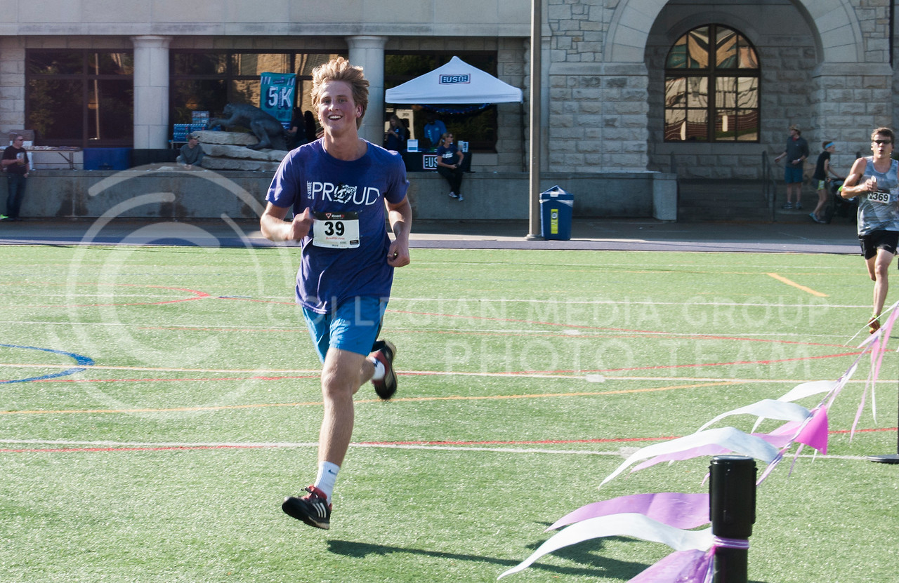 K-Staters and Manhattan residents participate in the 2016 Homecoming Philanthropy 5K Run/Walk. (Nick Horvath | The Royal Purple)