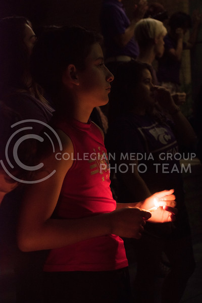 Not only students, but local children gathered in Bosco Plaza for Stand in Solidarity rally on September 14, 2017. The rally was held in response to the White Nationalist posters posted on campus. (Olivia Bergmeier | Collegian Media Group)