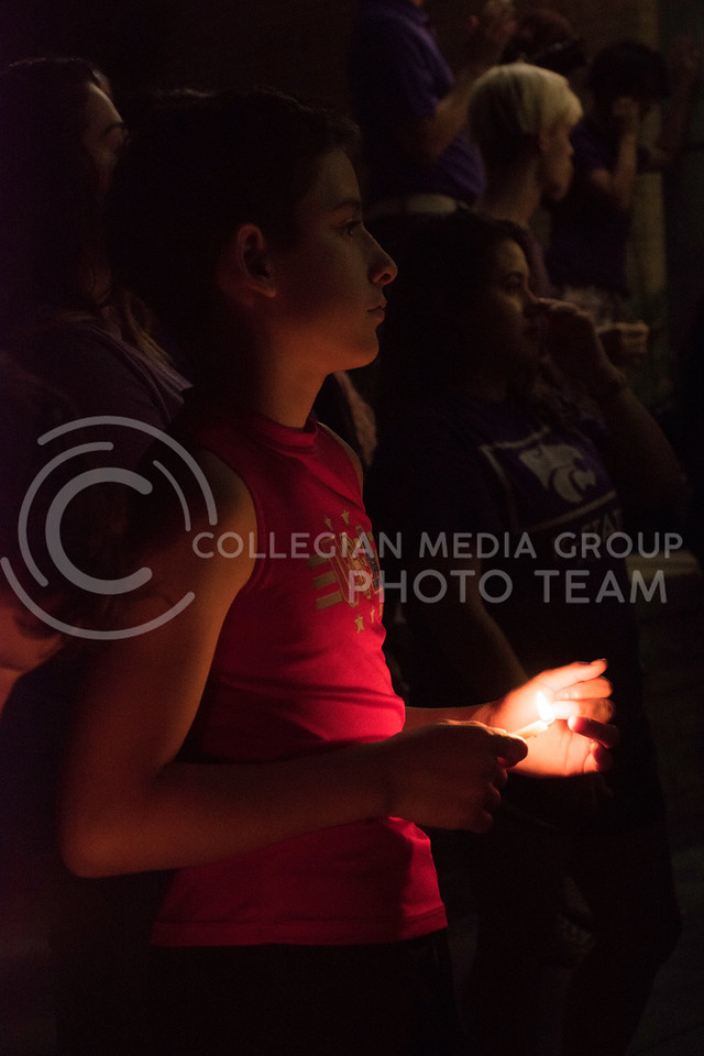 Not only students, but local children gathered in Bosco Plaza for Stand in Solidarity rally on September 14, 2017. The rally was held in response to the White Nationalist posters posted on campus. (Olivia Bergmeier   Collegian Media Group)