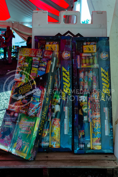 Various Fireworks are on sale starting today June 27th in the areas surounding Manhattan Ks. (Alex Shaw | Collegian Media Group)