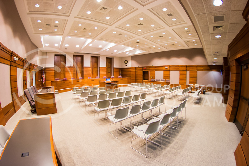 City Hall Commission Room (Stock photo by Logan Wassall | Collegian Media Group)