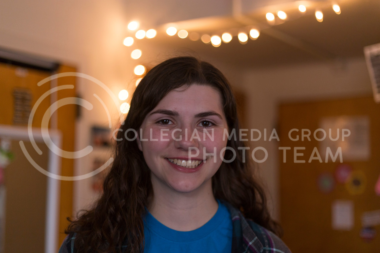 """""""Yes, because I could watch it and watch Netflix at the same time"""" - Lex Wilson, sophomore in civil engineering (Anna Spexarth 