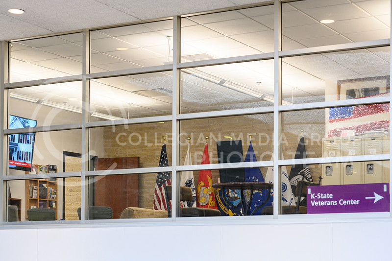 K-State Veterans Center located in the Student Union. 02/06/20. (Dylan Connell | Collegian Media Group)