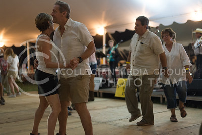 Patrons danced the night away after the concert on June 11, 2016 during the Symphony In The Flint Hills in Chase County. (Photo by Evert Nelson | The Collegian)