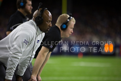 K-State defeated Texas A&M in the AdvoCare V100 Texas Bowl in the NRG Stadium in Houston on Dec. 28, 2016. The Wildcats beat the Aggies 33-28. (Emily Starkey   The Collegian)