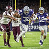 K-State defeated Texas A&M in the AdvoCare V100 Texas Bowl in the NRG Stadium in Houston on Dec. 28, 2016. The Wildcats beat the Aggies 33-28. (Austin Fuller | The Collegian)