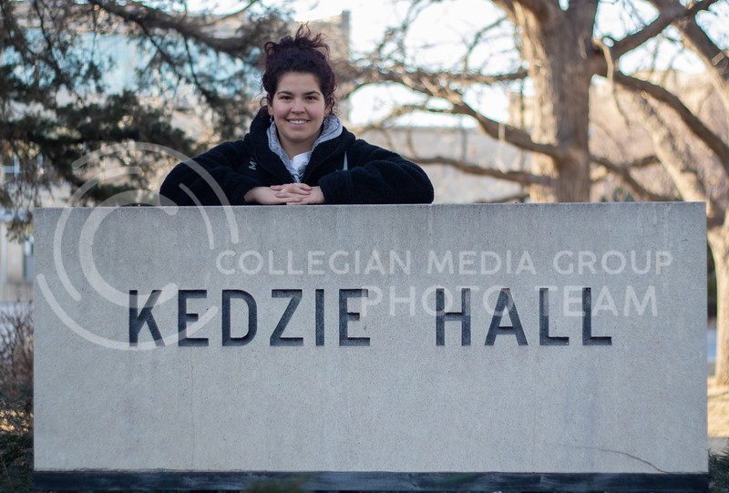 Sara Savatovic, a graduate student here at K-state studying journalism. She is an International student from Serbia and she spends most of her time in Kedzie Hall on campus. (Sreenikhil Keshamoni | Collegian Media Group)