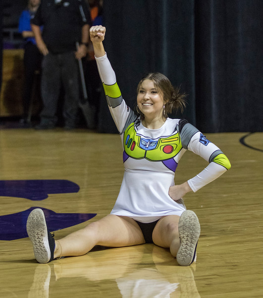 Members of the fraternity and sorority community come together in their homecoming pairings to perform dance routines at Wildcat Request Live at Bramlage Colesium on Oct. 22, 2019. (Cheyenne Greathouse | Collegian Media Group)
