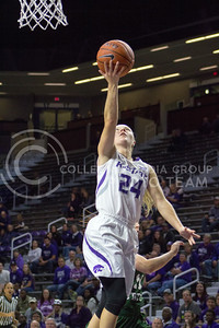 Senior guard Kindred Wesemann goes for a layup at the K-State game against Chicago State in Bramlage Coliseum on Nov. 11, 2016. (Maddie Domnick   The Collegian)