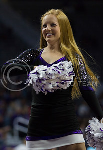 A Classy Cat dances during a timeout to keep the crowd pumped up during the K-State game against Washburn in Bramlage Coliseum on Nov. 4, 2016. (Sabrina Cline | The Collegian)