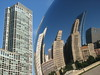 This is the original picture used to create Sue Thomson's CLOUD GATE'S CITYSCAPES (ESCHER) Collide-a-Scope.