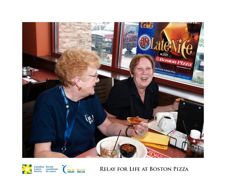 Relay for Life Fundraiser at Boston Pizza 6