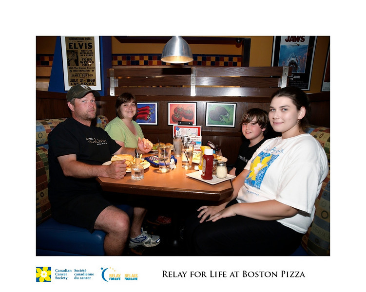 Relay for Life Fundraiser at Boston Pizza 8