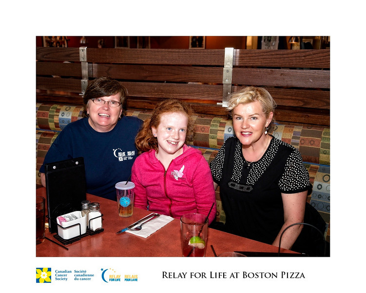 Relay for Life Fundraiser at Boston Pizza 4