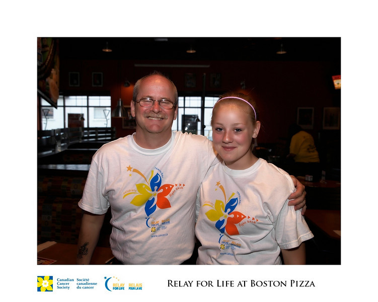 Relay for Life Fundraiser at Boston Pizza 19