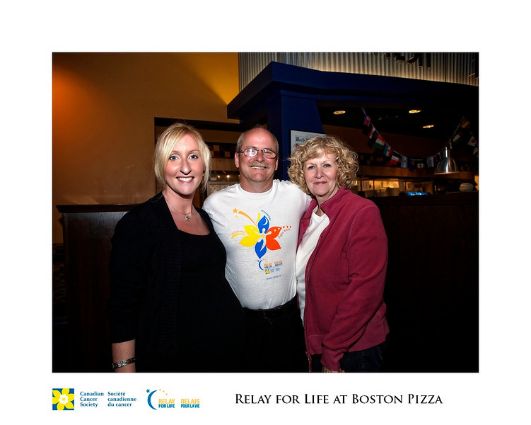Relay for Life Fundraiser at Boston Pizza 11