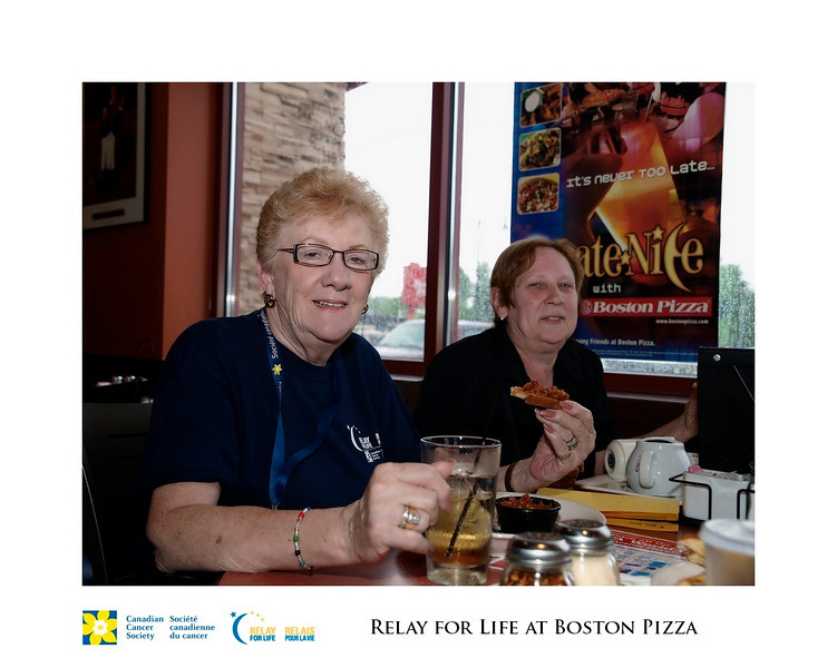 Relay for Life Fundraiser at Boston Pizza 7