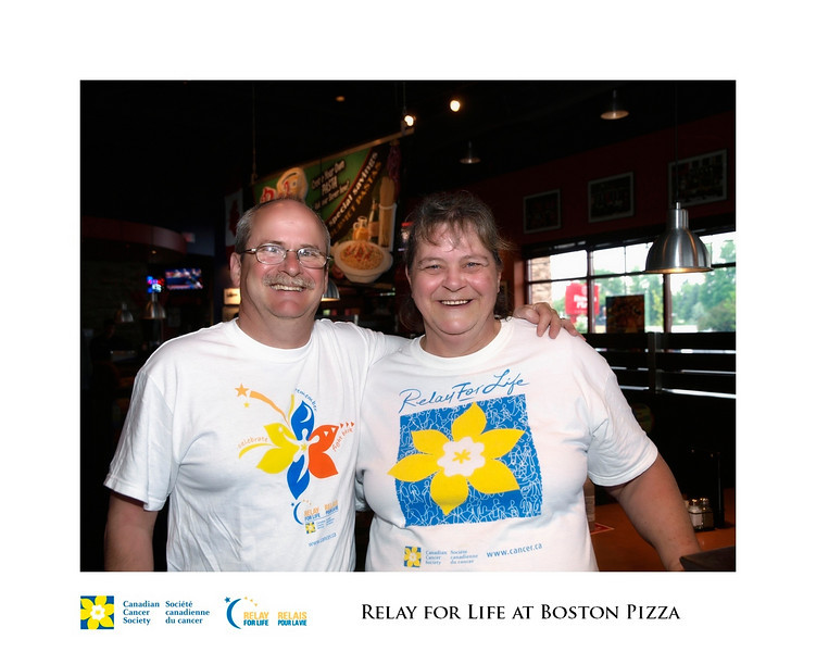 Relay for Life Fundraiser at Boston Pizza 14