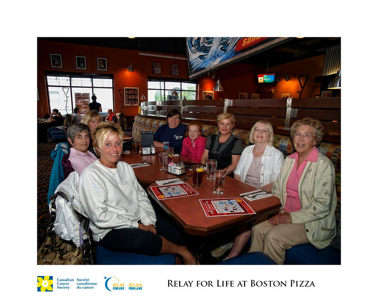 Relay for Life Fundraiser at Boston Pizza 3